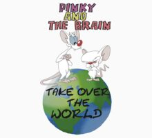 Pinky and the Brain by kalilak