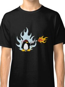 Flamethrower Penguin Classic T-Shirt