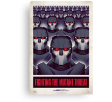 FIGHTING THE MUTANT THREAT!  Canvas Print