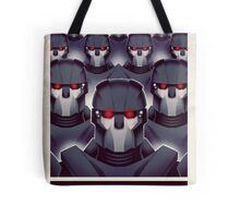 FIGHTING THE MUTANT THREAT!  Tote Bag