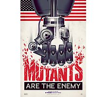 FIGHT THE MUTANTS! SUPPORT TRASK INDUSTRIES!  Photographic Print