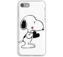 Snoopy's heart  iPhone Case/Skin