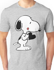 Snoopy's heart  Unisex T-Shirt