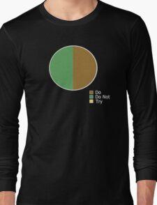 Pie Chart of Jedi Wisdom Long Sleeve T-Shirt