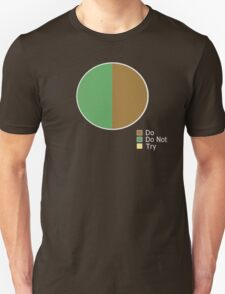 Pie Chart of Jedi Wisdom Unisex T-Shirt