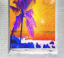 Sunset Mosaci by Laurianne  Macdonald