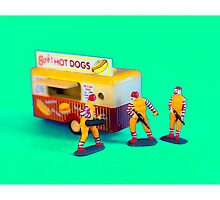 Fast Food Turf War by Tim Constable