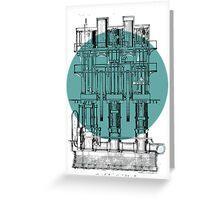 Machinery diagram Greeting Card