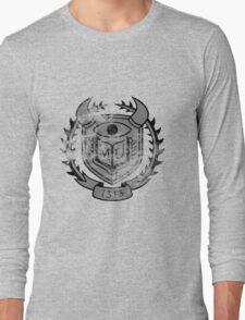 HSS Themed Distressed Logo Long Sleeve T-Shirt