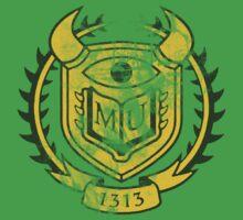 OK Themed Distressed Logo by Merwok
