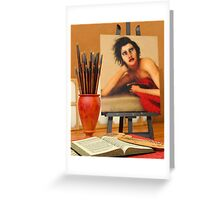The Artist's Studio 2 Greeting Card