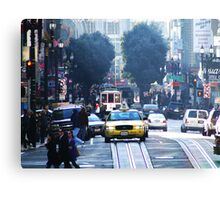 The Beauty of San Francisco Canvas Print