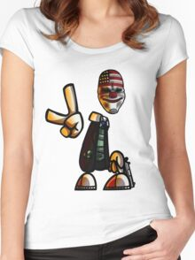Rayman/Payday Crossover  Women's Fitted Scoop T-Shirt