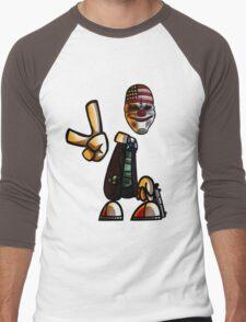 Rayman/Payday Crossover  Men's Baseball ¾ T-Shirt