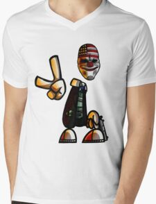 Rayman/Payday Crossover  Mens V-Neck T-Shirt