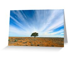 Stand Out - Tibooburra, NSW Greeting Card