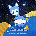 LLAMACARON ♥ blueberry flavour! by mimolette