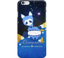 LLAMACARON ♥ blueberry flavour! iPhone Case/Skin