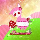 LLAMACARON ♥ strawberry flavour! by mimolette