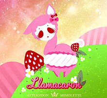 LLAMACARON ♥ strawberry flavour! by mimolette