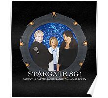 The Women of Stargate SG1 Poster