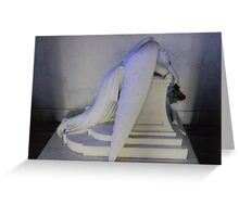 weeping angel Greeting Card