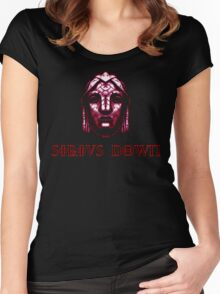 sirius down Women's Fitted Scoop T-Shirt