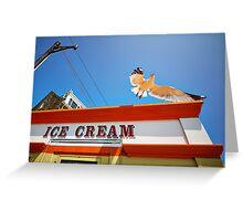 The Ice Cream Seagull Greeting Card