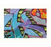 graffiti 30 Art Print