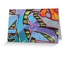 graffiti 30 Greeting Card
