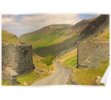 Honister Pass, Borrowdale , Cumbria Poster