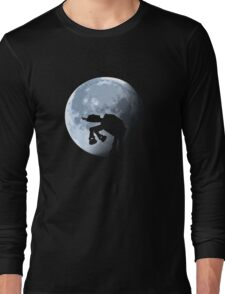 Moon Light Robot Long Sleeve T-Shirt