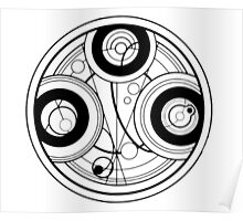Doctor Who Gallifreyan Poster