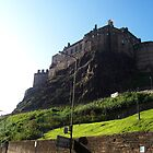 Edinburgh Castle Dusk by neimagination