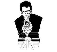 Elvis Costello - This Year's Model - Illustration Photographic Print
