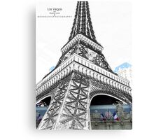 From Vegas to Paris Canvas Print