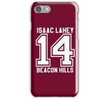 Isaac Lahey #14 iPhone Case/Skin