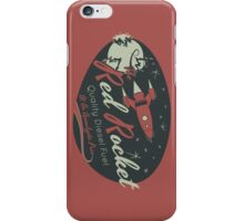 Red Rocket (Distressed) iPhone Case/Skin