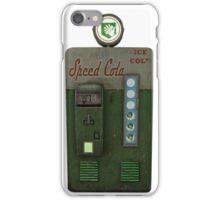 Speed Cola Machine iPhone Case/Skin