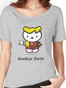 Goodbye Earth Women's Relaxed Fit T-Shirt