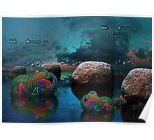 ©DA Marine Stars Landscape II Poster