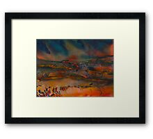 Watercolour: We are young Framed Print