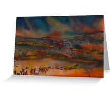 Watercolour: We are young Greeting Card