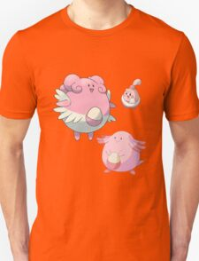 Blissey, Chansey, and Happiny  T-Shirt