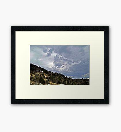 Earth and Sky Framed Print