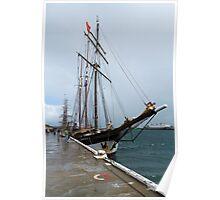 """Dutch Tall Ship """"Oosterschelde Poster"""