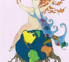 Earth Goddess by DreamtimeArt