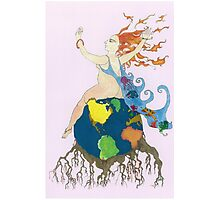 Earth Goddess Photographic Print