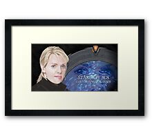 Samantha Carter SG1 Framed Print