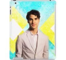 Darren Criss Yellow/Blue  iPad Case/Skin